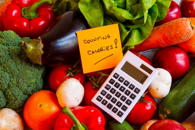 Vegetables and Calculator Calculation Calculator