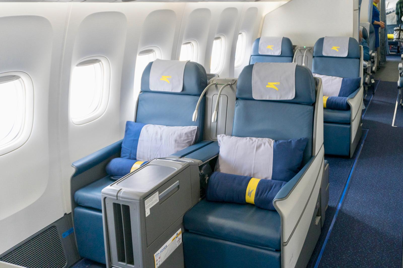 Boeing 777 Economy Seats