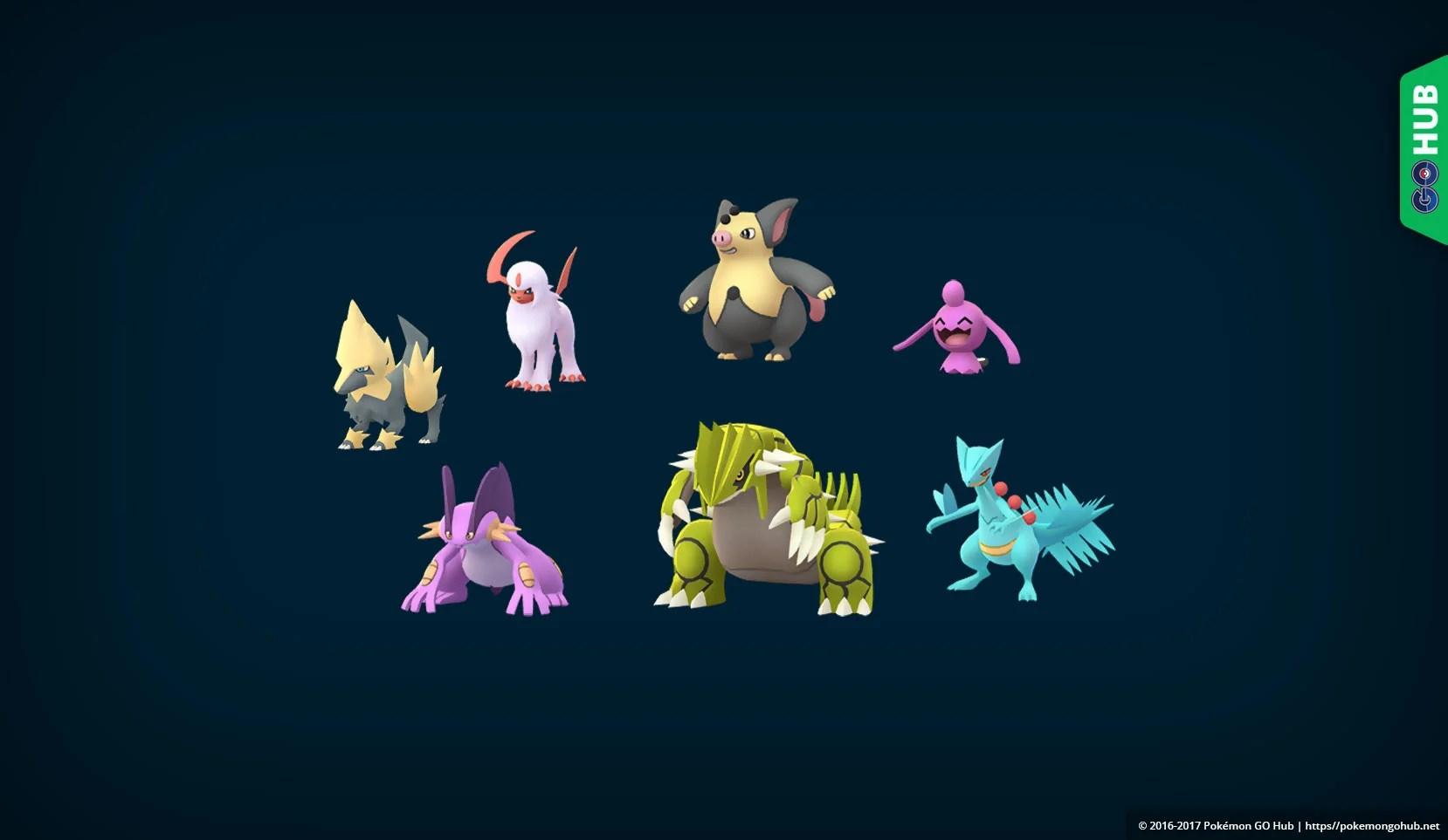 Shiny Pokemon Sprites All