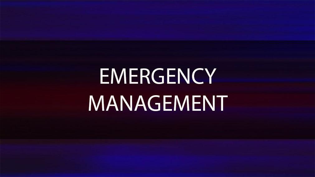 University Emergency Blue Lights