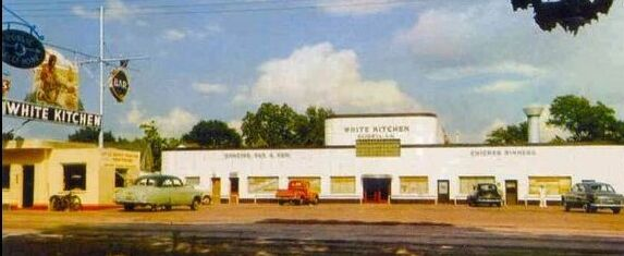 White Kitchen Highway 90 Louisiana