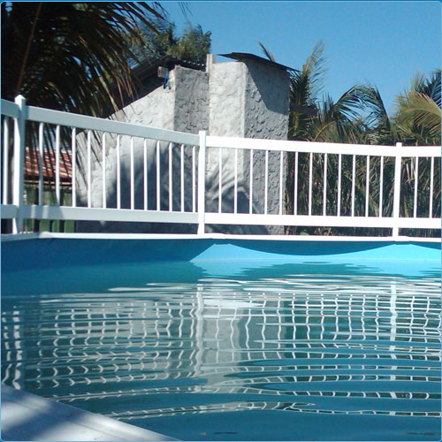 Water Warden Above Ground Swimming Pool Fence Kit B