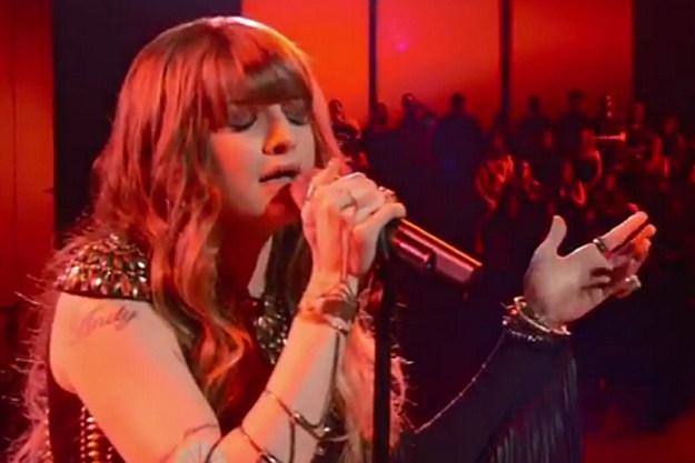 Juliet Simms' Performance of 'Roxanne' Makes Adam Levine ...