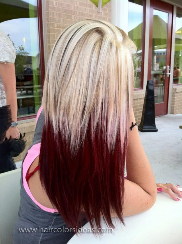 12 Blonde Hair with Red Highlights: Hair Color Ideas ...