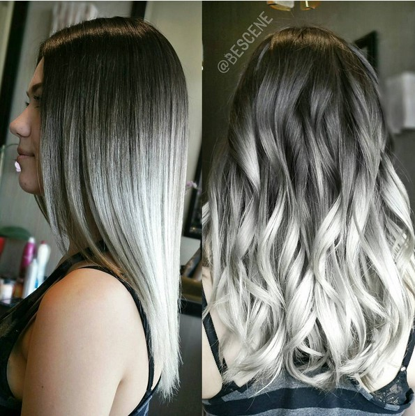 Black Short Haircuts Color