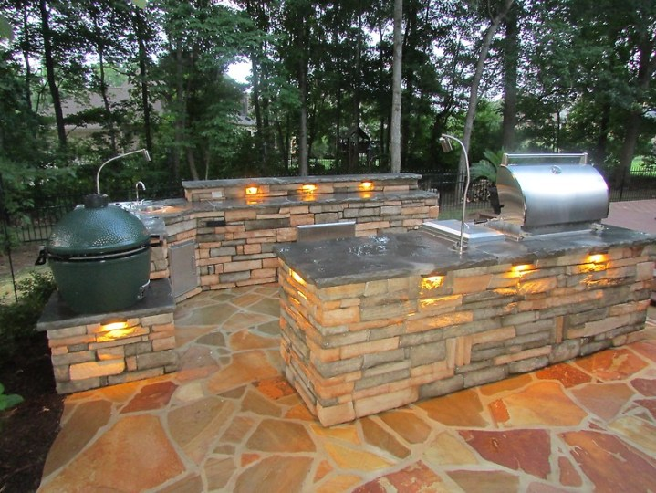 7 Tips for Designing the Best Outdoor Kitchen   Porch Advice Webster Landscaping outdoor kitchen
