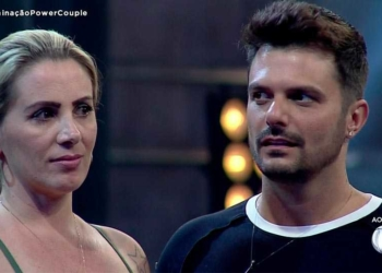 Faby Monarca e Enrico Mansur são eliminados do Power Couple