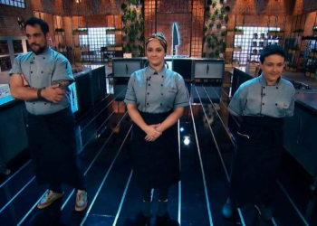 Gabriel, Giovanna e Dadis no Top Chef