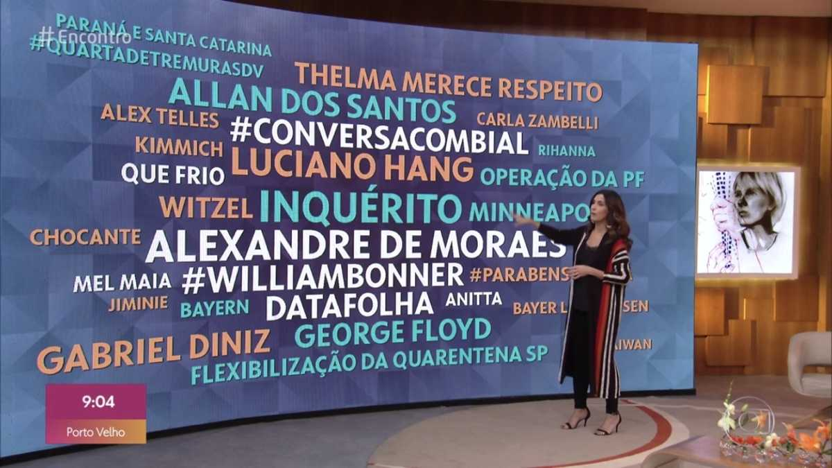 Fátima Bernardes fala de Willian Bonner