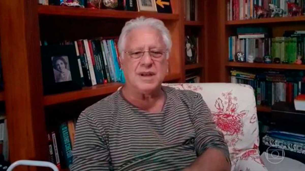 Antonio Fagundes no Domingão