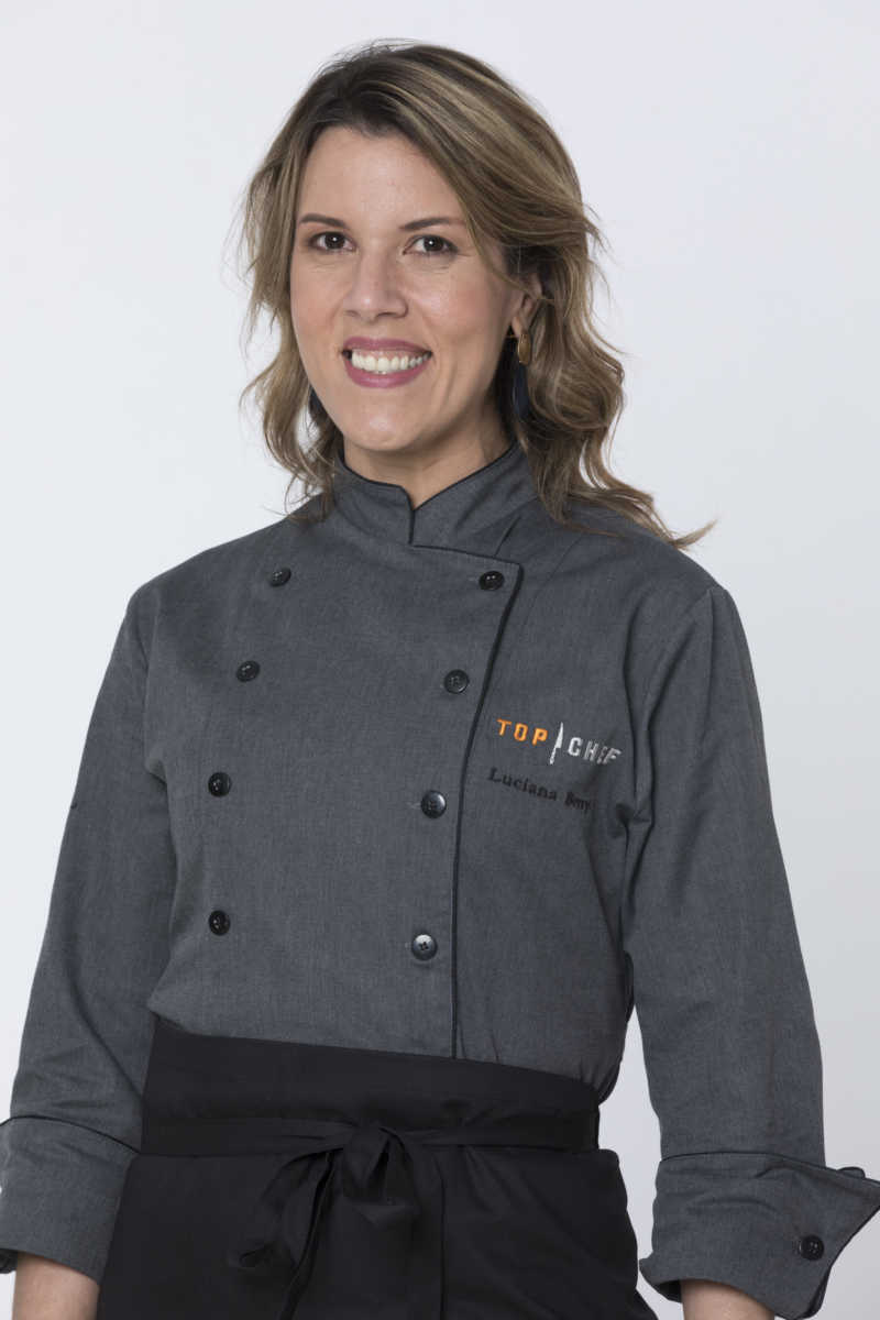 Luciana Berry participante do Top Chef Brasil 2
