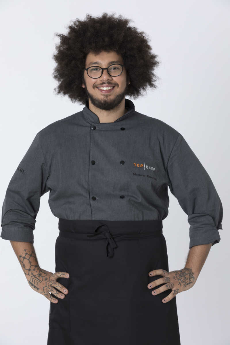 Matheus Emerick participante do Top Chef Brasil 2