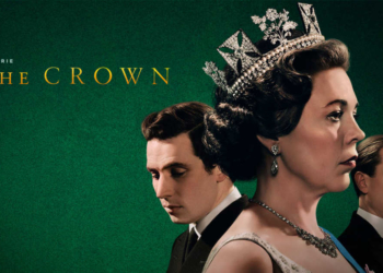 Capa da série The Crown/na Netflix