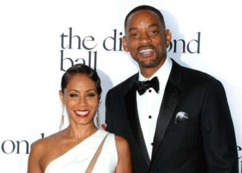 Jada Pinkett e Will Smith posam juntos