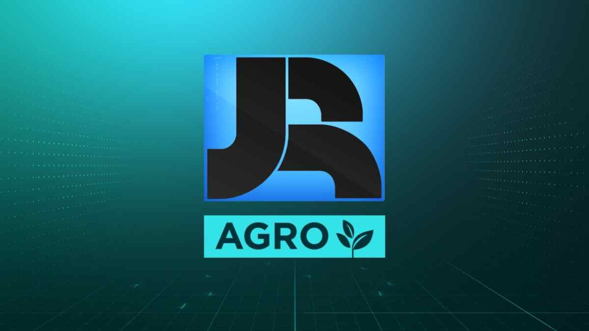 Logo do JR Agro, novo programa da Record News