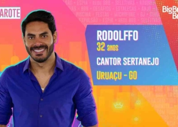 Cantor Rodolffo estará no camarote do BBB 21