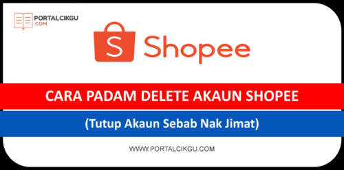 cara padam delete shopee