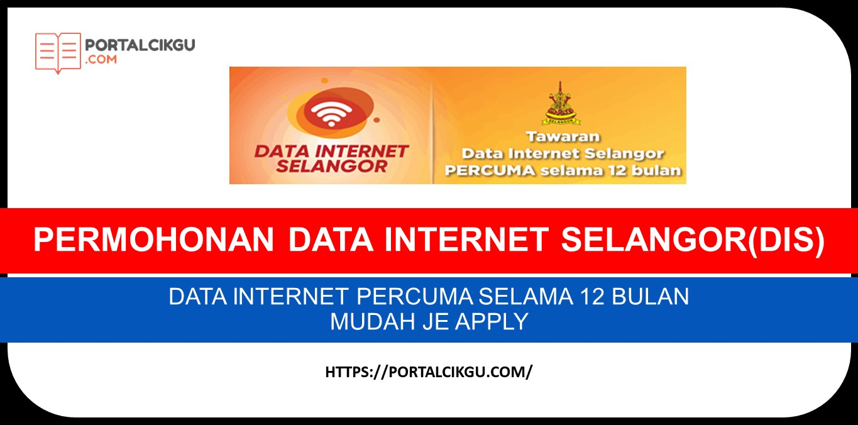 PERMOHONAN DATA INTERNET SELANGOR