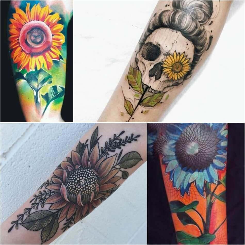 Sunflower Tattoo Meaning - Popular Sunflower Tattoo Ideas ...