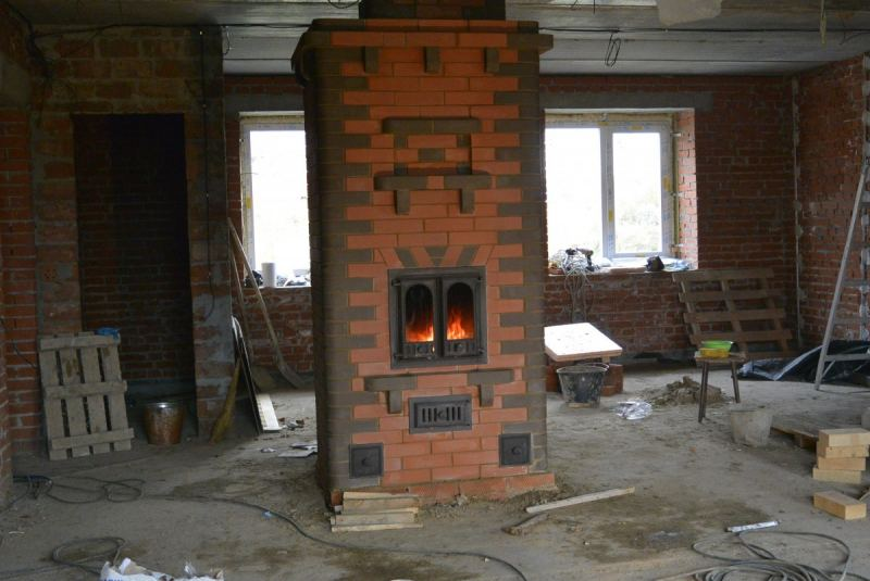 Brick oven for home (115 photos): Instructions for installation with your own hands, stove drawings