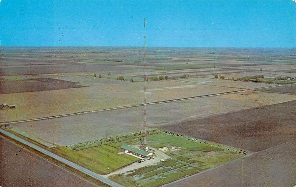 Hayes Center Nebraska KHOL TV Antenna Tower Vintage Postcard K62218   eBay