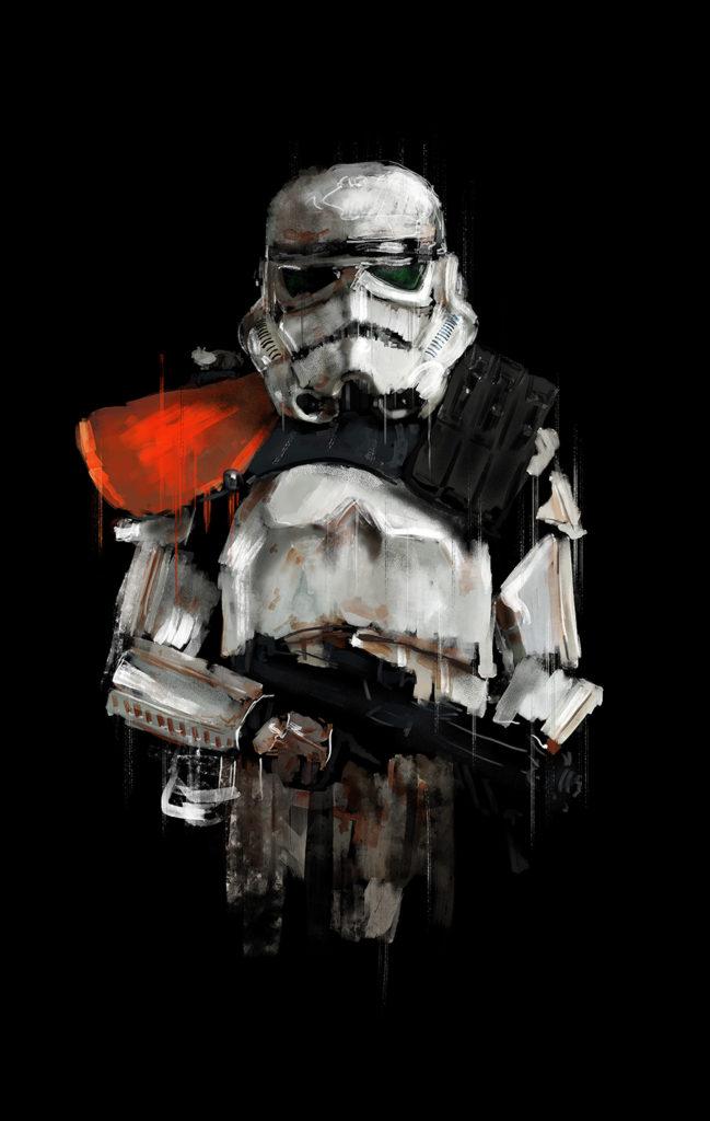 Order Stormtrooper Concept First Art