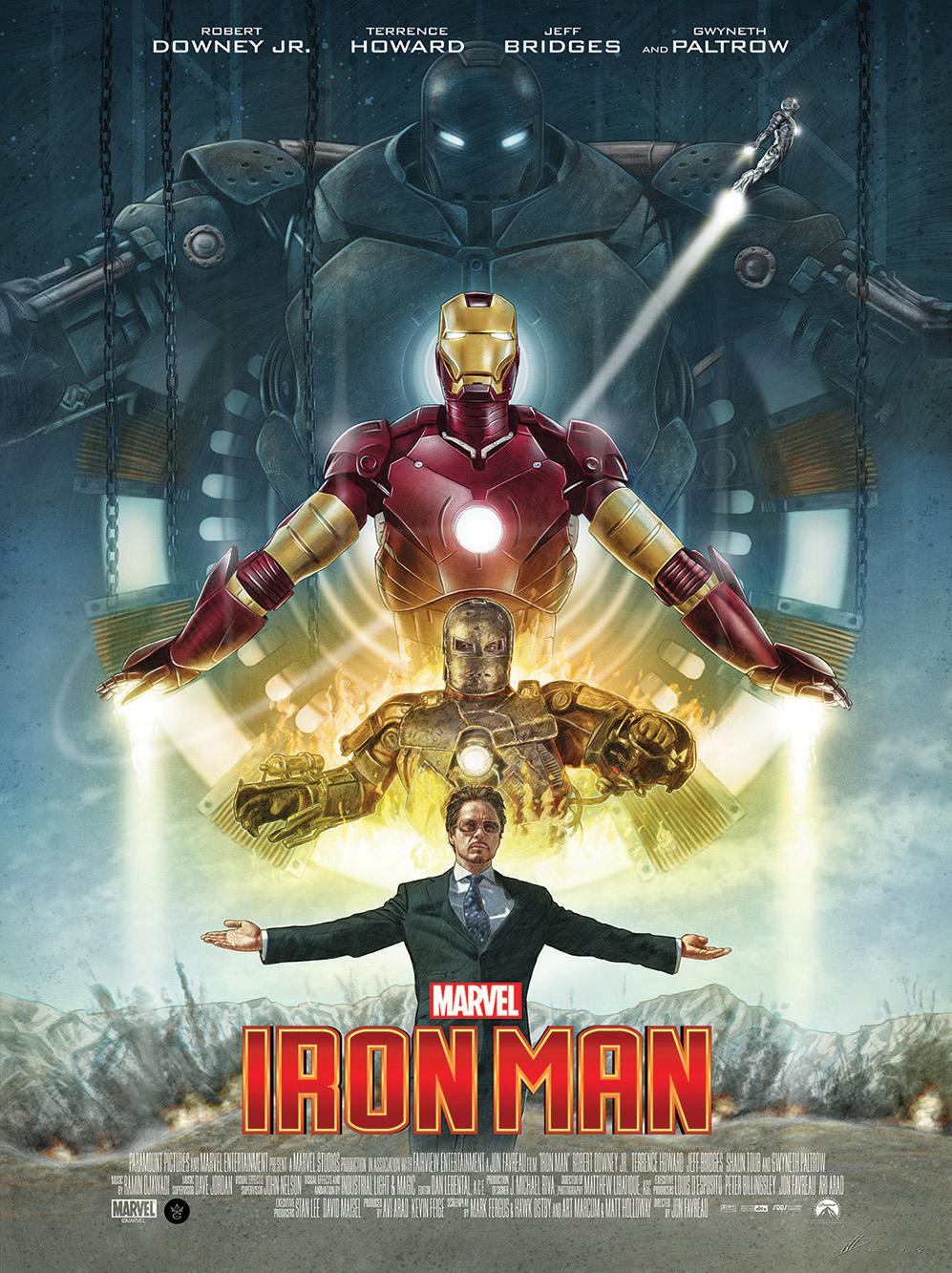 Iron Man 10th Anniversary alternative movie poster - PosterSpy