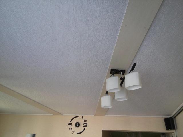 Loftet af stof.