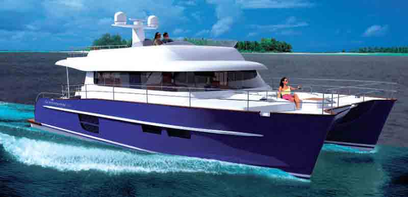 Power Catamaran Hull Plans