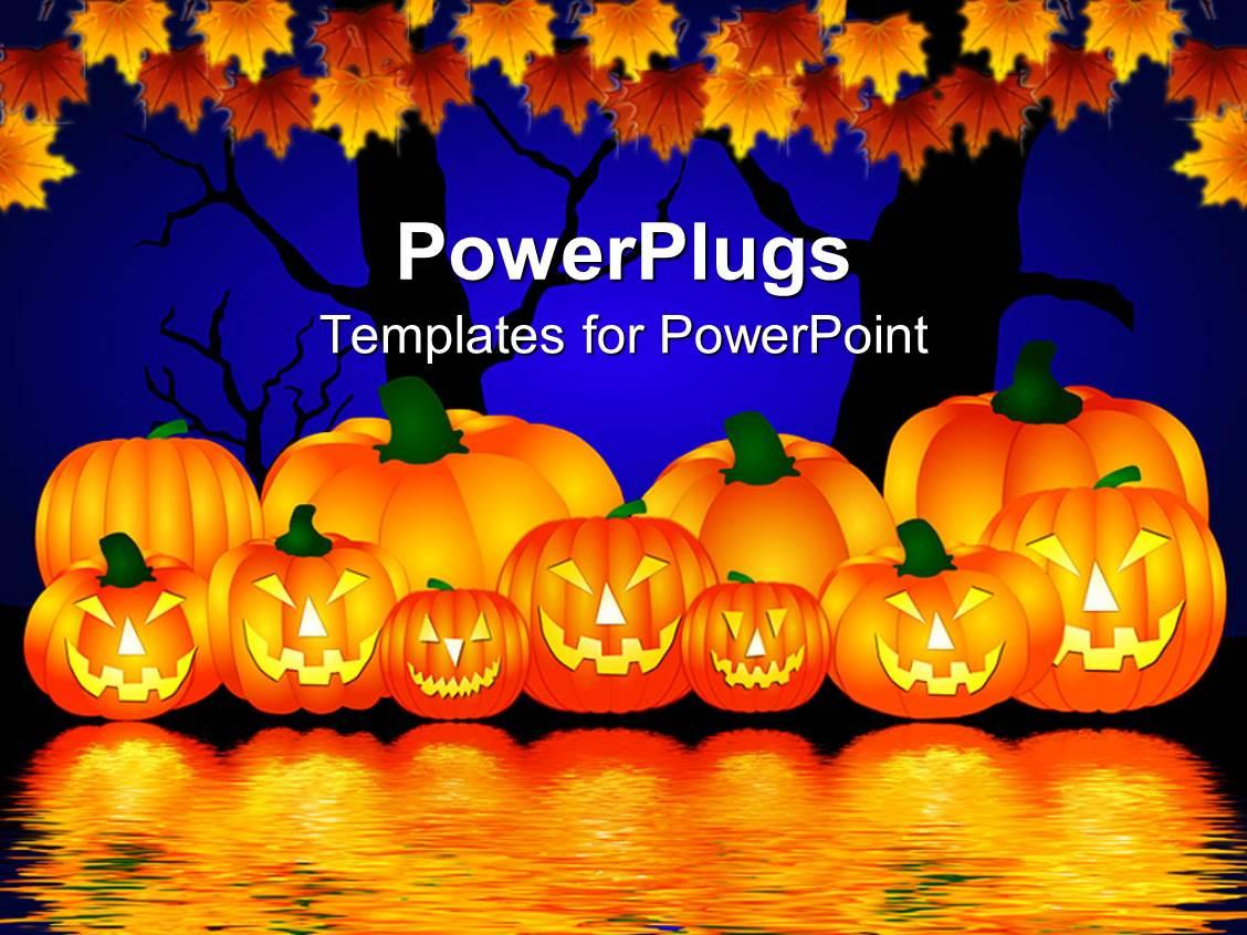 halloween powerpoint themes