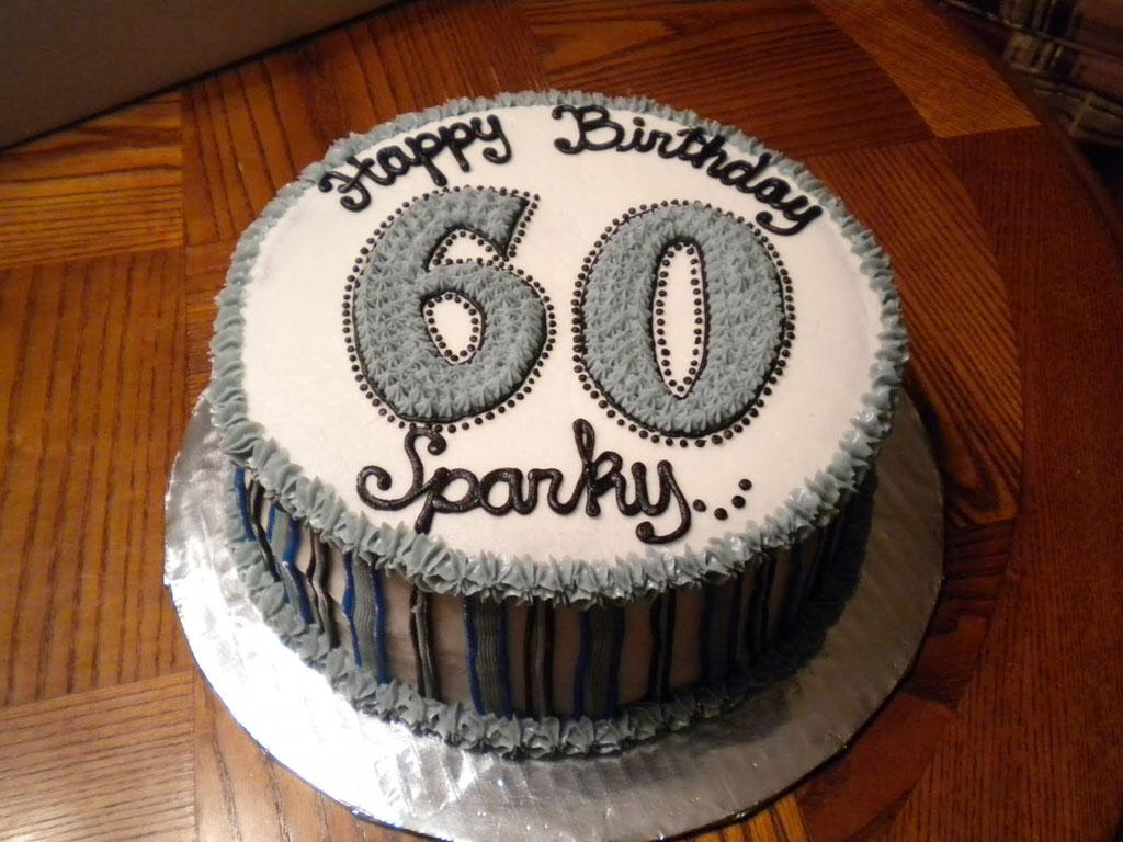 60th Birthday Cakes Men
