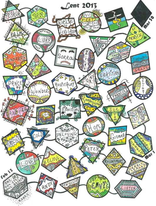 Lenten Calendars for 2013 | Praying in Color