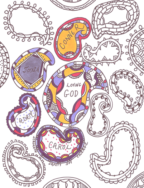 Paisley Prayers and Coloring Page | Praying in Color