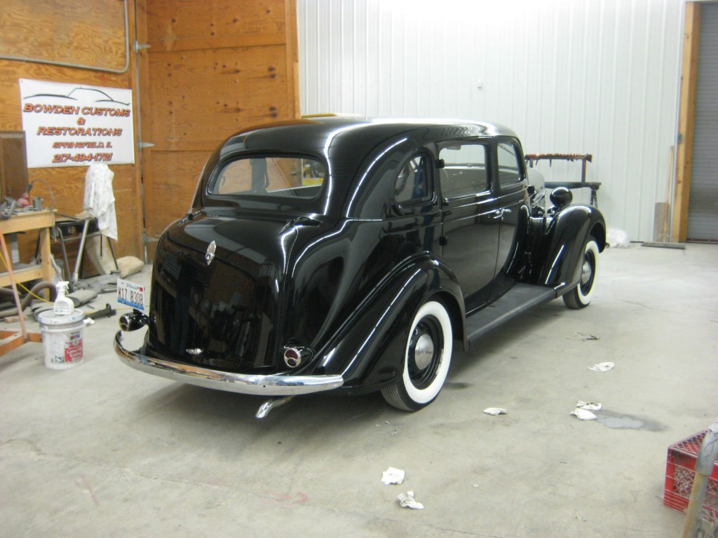 1934 Plymouth Coupe Project Cars