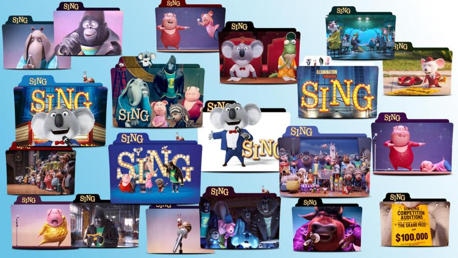 Sing Movie 2016 Folder Icon Pack by MaxineChernikoff on DeviantArt Sing Movie 2016 Folder Icon Pack by MaxineChernikoff
