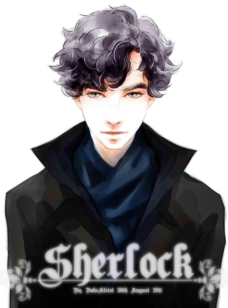 Bbc Sherlock Fan Art Wallpaper