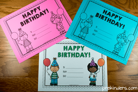 Birthday Crown  Certificate  Chart   PreKinders Printable Birthday Certificates for Teachers