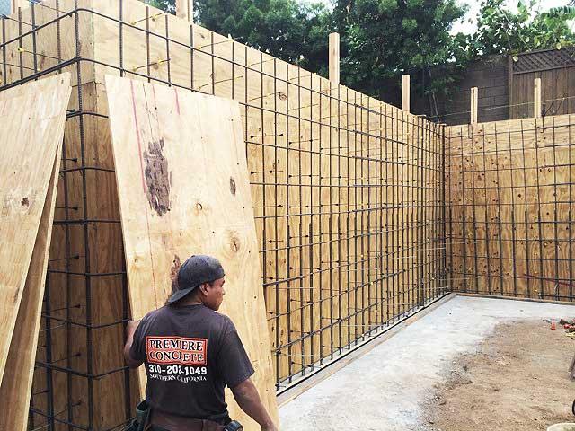 Los Angeles Concrete Walls Premiere Concrete