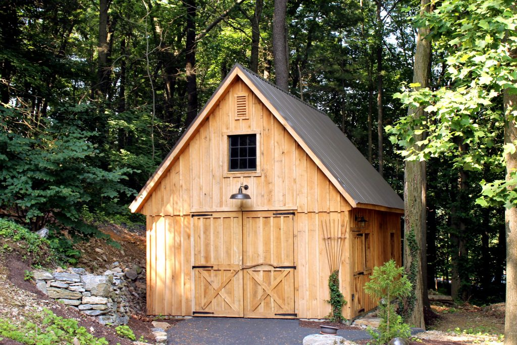 Building Outdoor Storage Shed