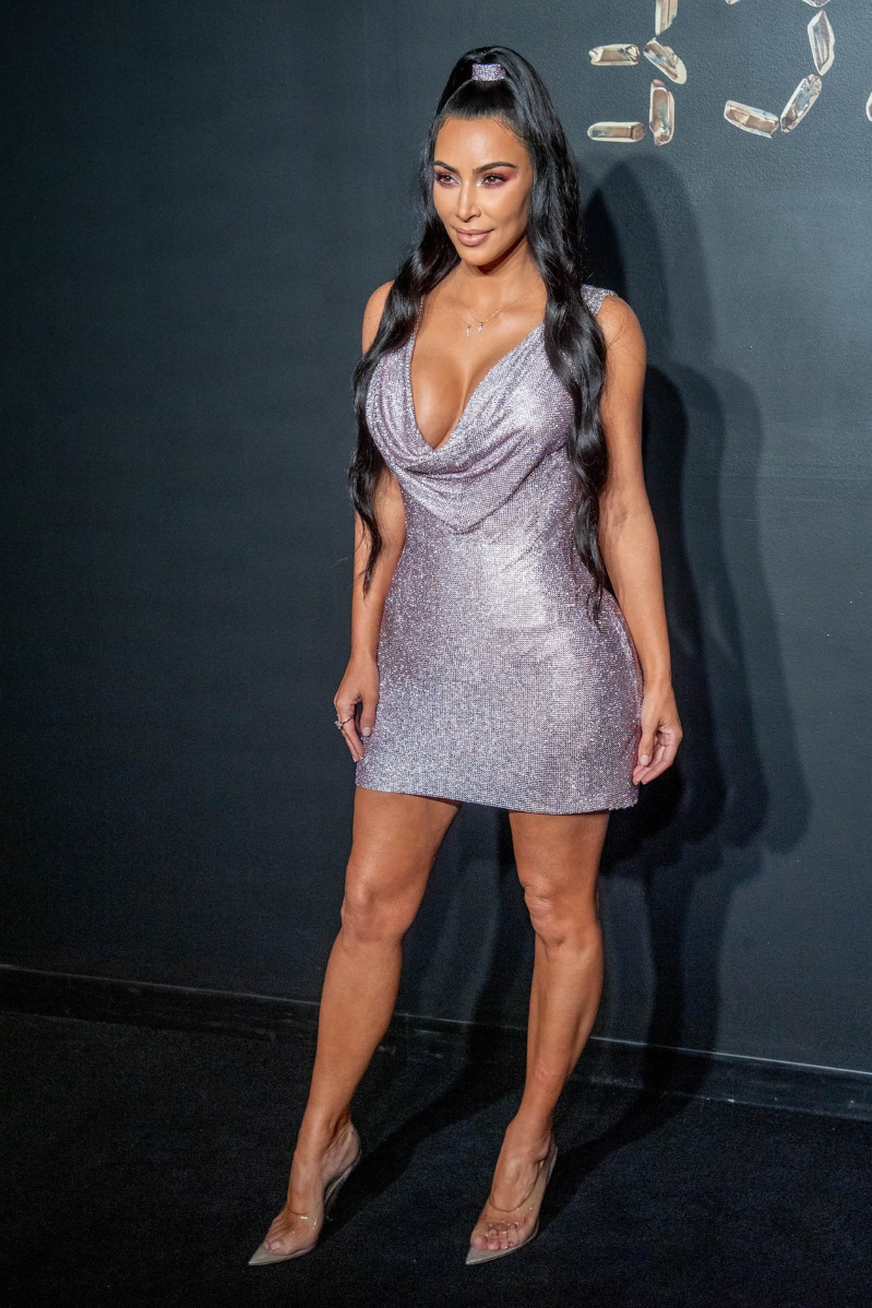 Kim Kardashian Daring Dress