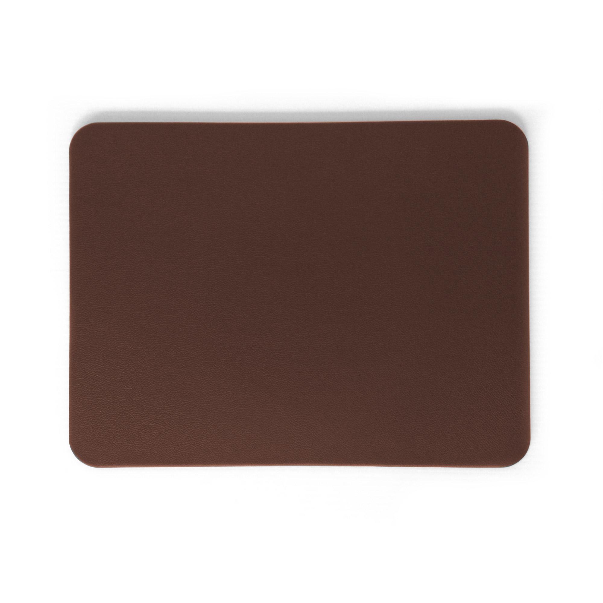 Chestnut Brown Leather Desk Blotter Pad Prestige Office