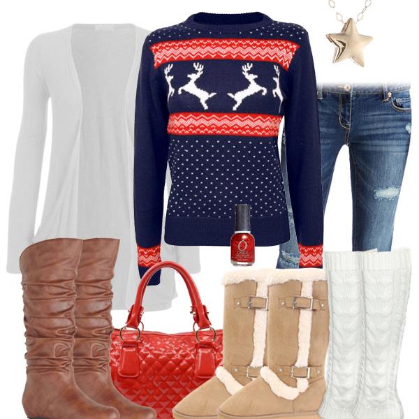 Cute Christmas Sweaters, Cute Snowflakes Sweaters, Fair ...