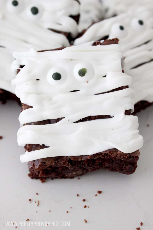 Easy Mummy Brownies
