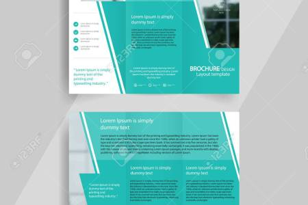 Business Tri fold Brochure Layout Design  vector A4 Brochure     business tri fold brochure layout design  vector a4 brochure template Stock  Vector   67463166