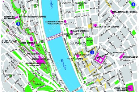 Budapest Map Full HD MAPS Locations Another World Pices - Vintage budapest map