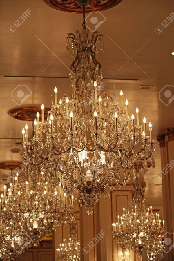 crystal chandeliers # 76