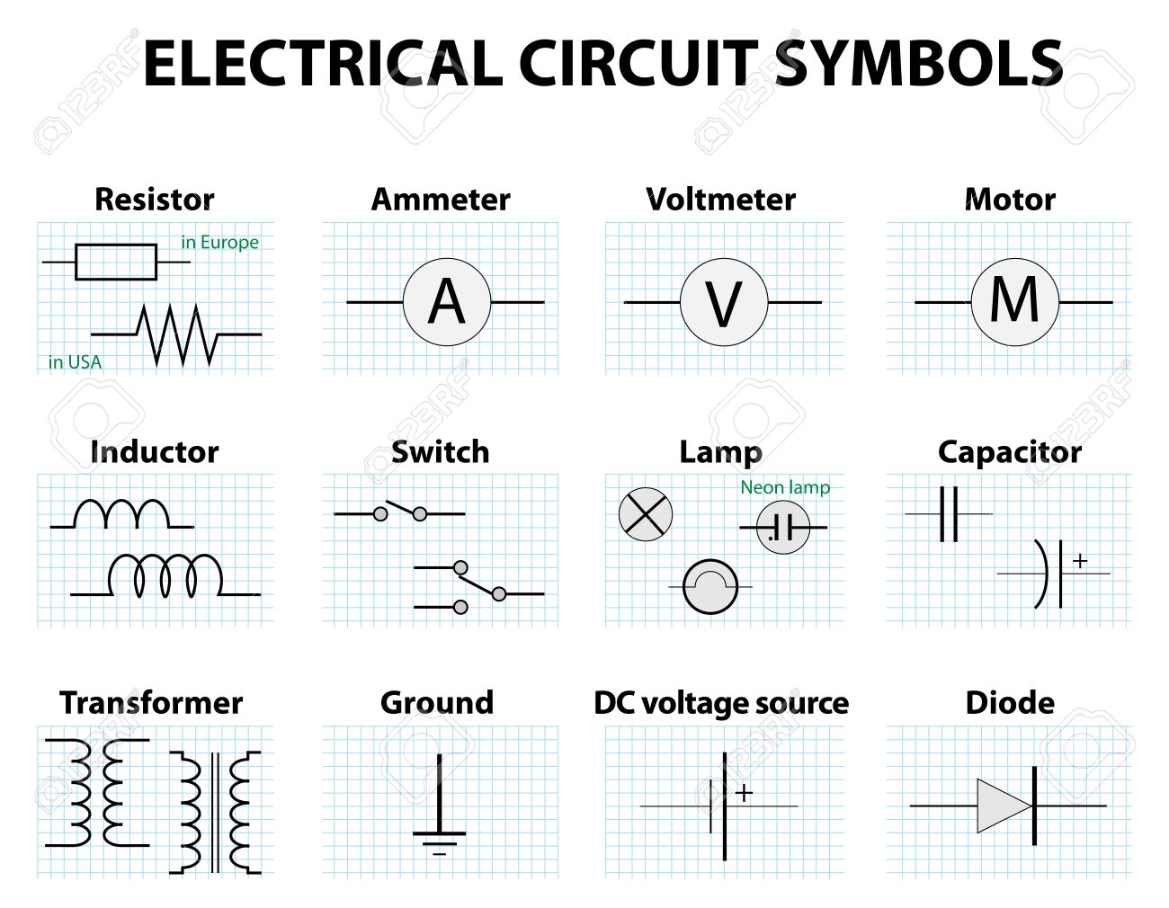 Wiring Diagram Symbol For Relay Free Download Wiring Diagram | Xwiaw ...