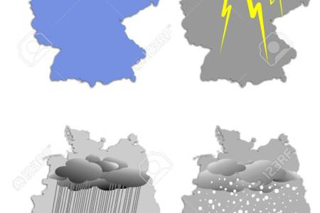 Germany Weather Map Stock Photo  Picture And Royalty Free Image     Germany weather map Stock Photo   9826473