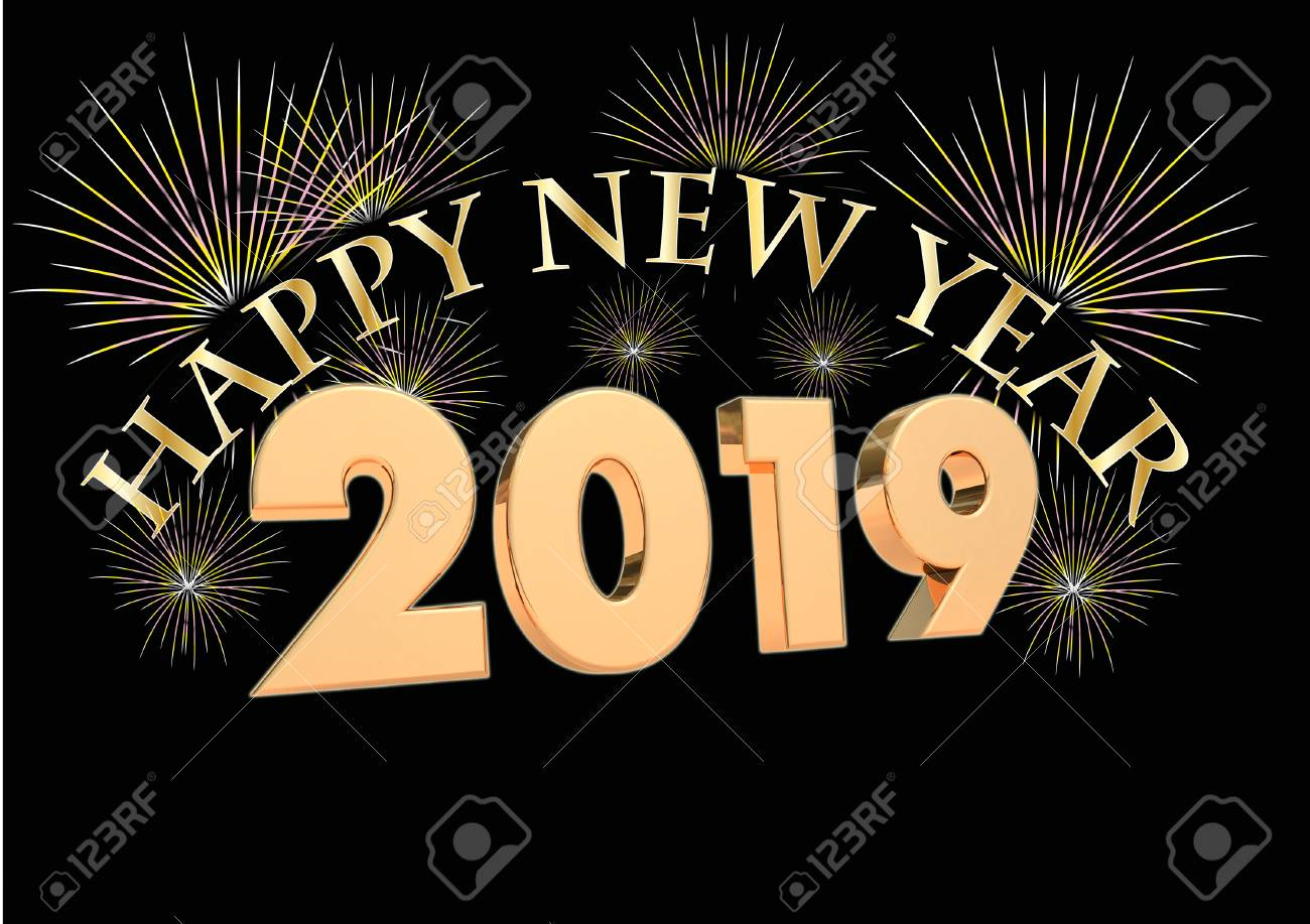 2019 New Year Clock Stock Photo  Picture And Royalty Free Image     2019 New year clock Stock Photo   90338421
