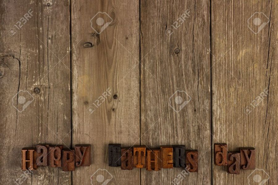 Happy Fathers Day Vintage Wood Letters On A Rustic Wooden Background     Happy Fathers Day vintage wood letters on a rustic wooden background Stock  Photo   39565449